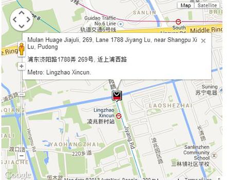 Mulan Huage Furniture Map
