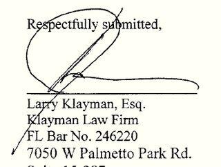 ECF 160 Signature